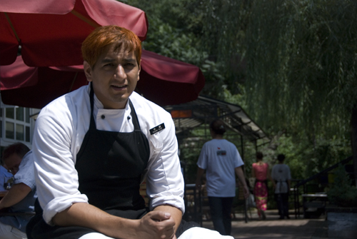 Chef Randhir Singh of The Schoolhouse at Mutianyu