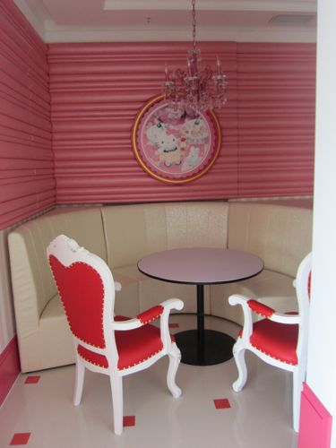 First Look Hello Kitty S New Shimao Restaurant The