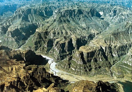 Photo of Taihang Canyon from english.hebei.com.cn