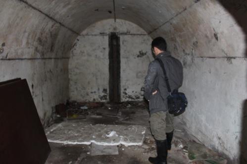 A standard bunker.