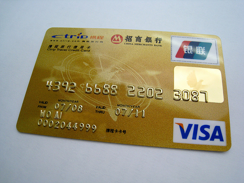 Got a visa unionpay card look out for extra charges overseas a local credit card with the unionpay symbol top right sciox Gallery