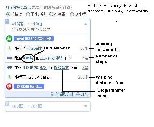 How To Baidu Beijing Bus Routes | the Beijinger
