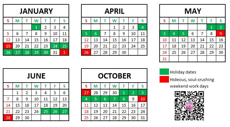 Winter Olympics Calendar 2020.Official China 2020 Holiday Calendar Has Record 7 Miserable