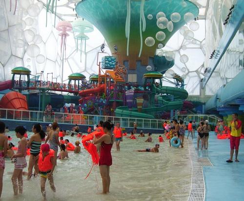 Water Cube  Happy Magic Water Cube Waterpark