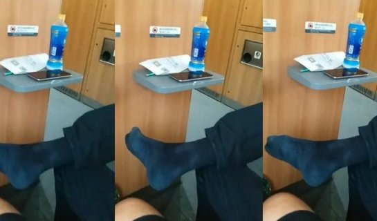 Expat's Bared Feet Raises Stink Among Chinese Netizens