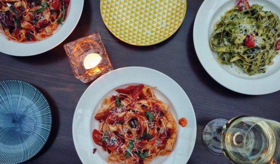 R EAT: London Long Table at Hatchery, Pasta Weekend at Ramo, Cartoccio at Mimi e Coco for Final Cartoccio Day