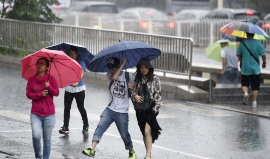 Anticipation Builds as Beijing Braces for Oncoming Storm