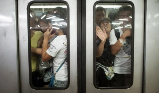 Pack it In: Guomao's Already Massive Subway Crowds Expected to Increase by 50 percent by 2025
