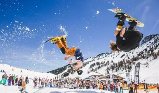 Snowboarding, EDM, and... Human Bowling? All That and More at the Great Wall Snow Festival Dec. 17