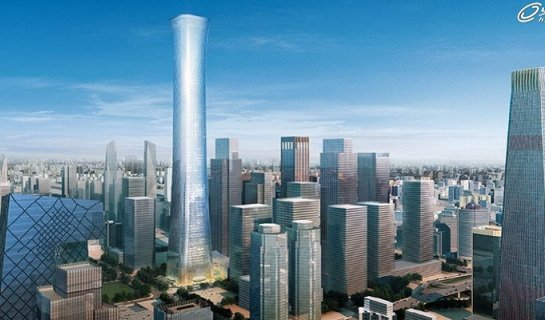 Beijing's Tallest Skyscraper Z15 Tower Will Be Finished in 2017Beijing's Tallest Skyscraper Z15 Tower Will Be Finished in 2017