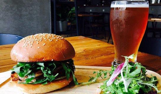 DP Burger Brief: Delicious Foie Gras Burger and Osmanths Ale at High Town, Nali Patio