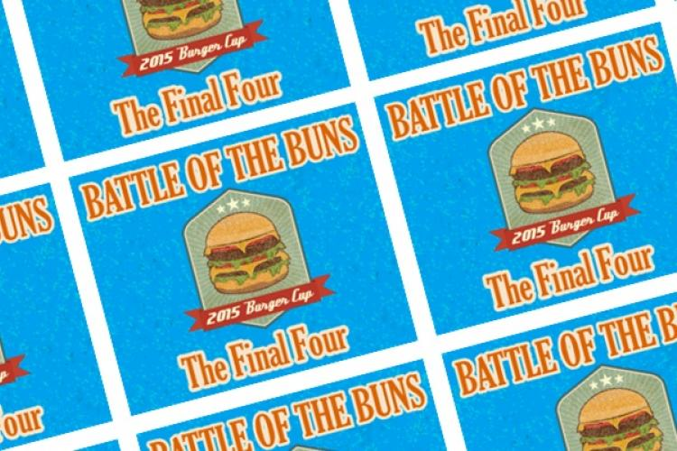 The of Final Four Put Burgers on Special today: Partake and Vote!