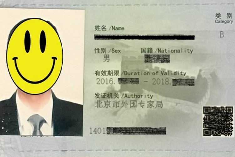 We Just Got Our First Closeup of the New China Work Permit