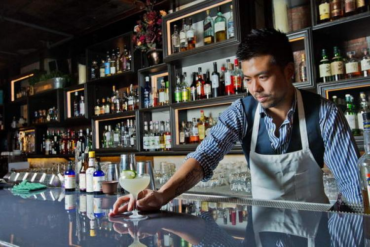 Shake It Up With: Best Bartender Nominee Warren Pang of Janes and Hooch