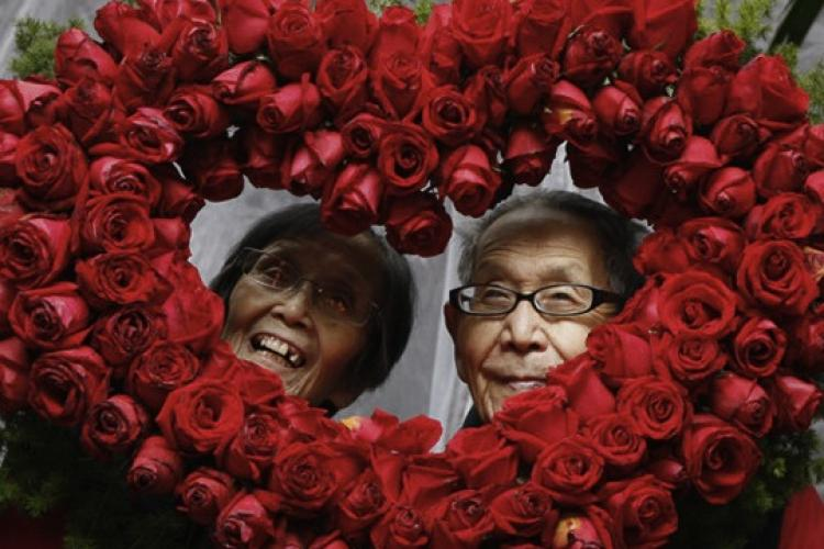 How China Celebrated Valentine's Day