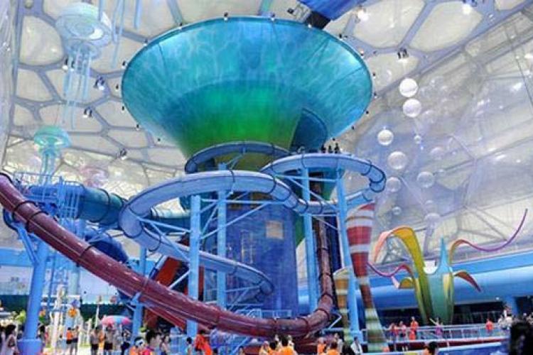 Meet You on the Slip Slide: Five Beijing Pools
