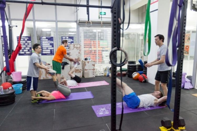 Flex This: The Weigh in on Middle Kingdom Fitness in Guanghua Lu