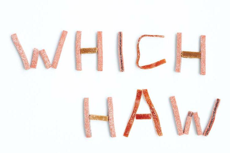 Taste Test: Which Haw to Gnaw?