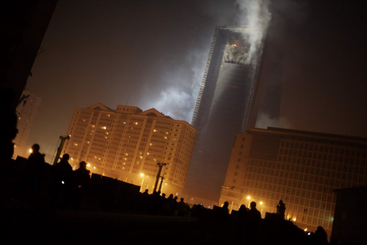 Throwback Thursday: February 9, 2009, the CCTV Tower Hotel Burns, with No Opening in Sight