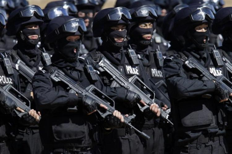 Beijing Deploys Anti-Terrorism Teams, Vehicles After Attacks Elsewhere