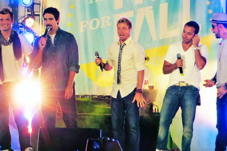 Back: The Backstreet Boys Play at Mastercard Center April 18
