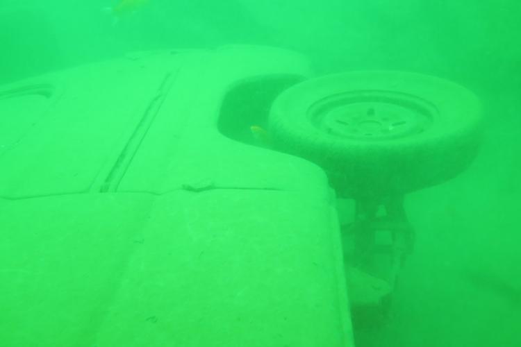 Eerie First Images of Sunken Van Divers Discovered in Southwest Beijing
