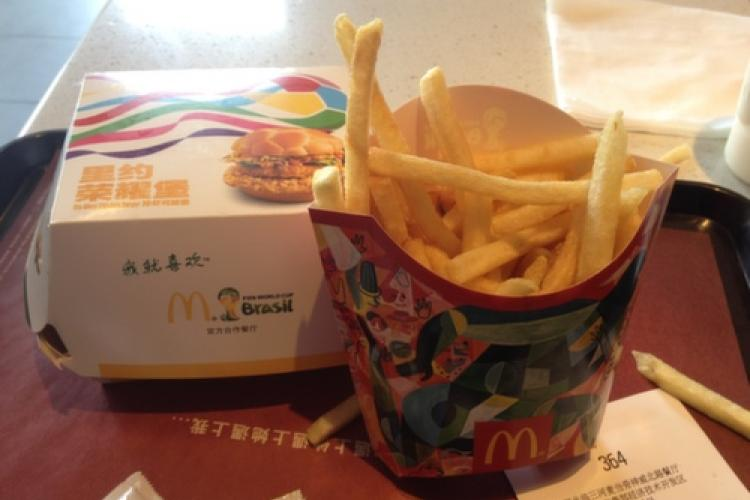 Fast Food Watch, World Cup Edition: MCD vs. KFC