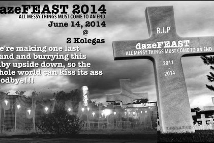 Final dazeFEAST Announced, Set for June 14