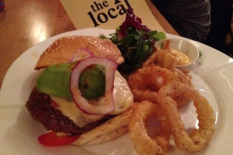 The Beijinger 2013 Burger Cup Finalist: The Local