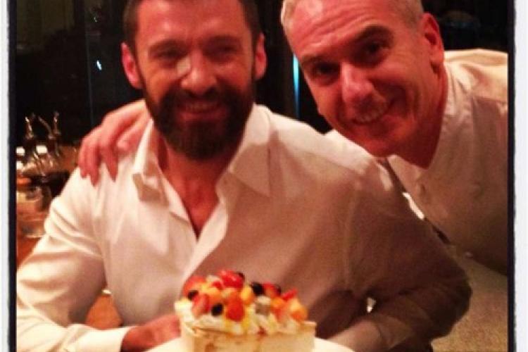 Actors Hugh Jackman, Peter Dinklage FEAST at Indigo after 'X-Men' Premiere