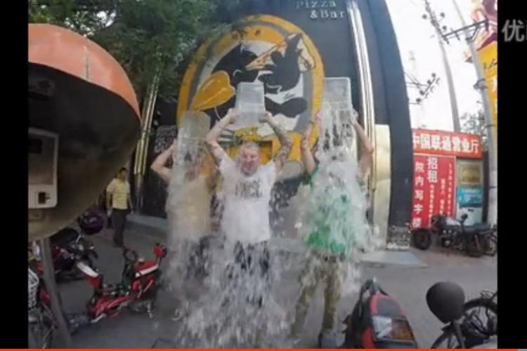 The Ice Bucket Challenge Comes to Beijing