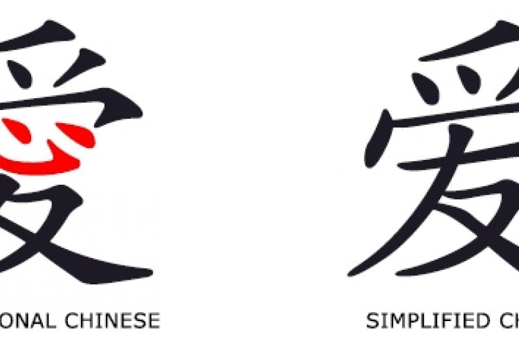 SImplified Chinese Characters Celebrate 50th Anniversary