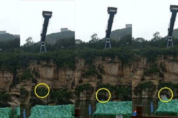 Bungee Jump Mishap Causes Plunge into River at Beijing Scenic Area