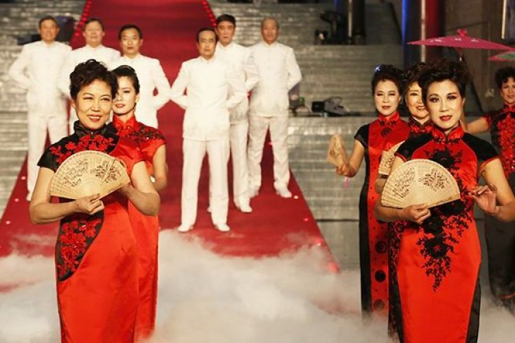 Beijing Celebrates its Elderly with a Beauty Pageant