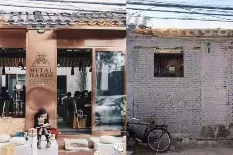 R Before and After Comparisons of Hutong Restorations Show a Niche Market with No Entry