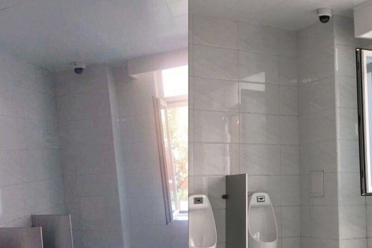 Big Brother Watches Little Brother: Video Surveillance Spotted Inside Beijing Public Bathroom
