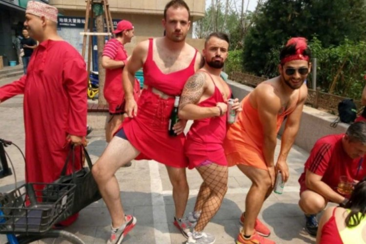 R Red Dress Charity Run Attracts Online Controversy As Animosity Towards Expats Grows