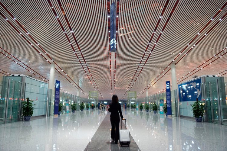Beijing Capital Airport Implements 'Women-Only' Security Checks