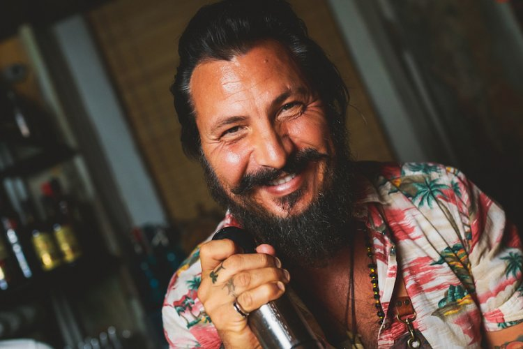 Tiki God, Daniele Dalla Pola, Serves Up Tropical Cocktail Fire at Atmosphere This Week