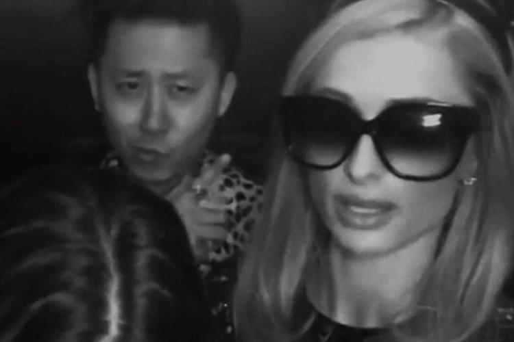 Paris Hilton Trapped in Crowded Beijing Elevator on Friday Night