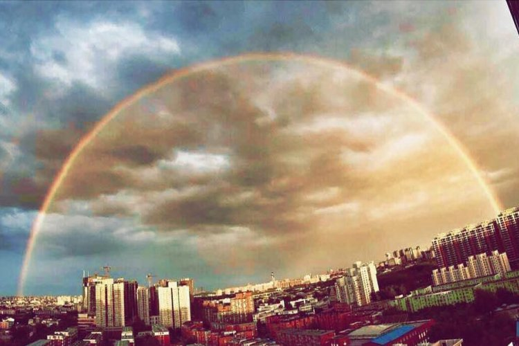 Oh My God, It's So Beautiful!: Beijing Double Rainbow