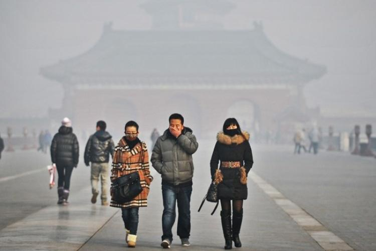 Authorities Increase Pollution Level to Orange: Terrible Air in Beijing For At Least Next Two Days