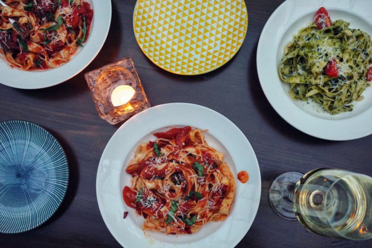 R EAT: London Long Table at Hatchery, Pasta Weekend at Ramo, Cartoccio at Mimi e Coco for Final Cartoccio Day