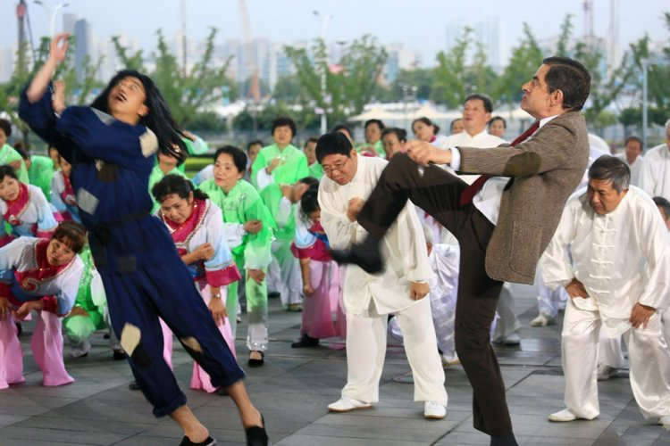 Mr Bean Comes to China in 'Top Funny Comedian The Movie'