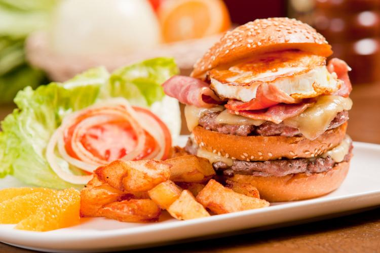 Burger Brief: Flamme's Signature Burger