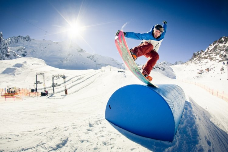 Cool Off With X Games Gold Medalist Eero Ettala and Other Pro Snowboarders at Sanlitun Soho's Summer Rail Jam, July 30
