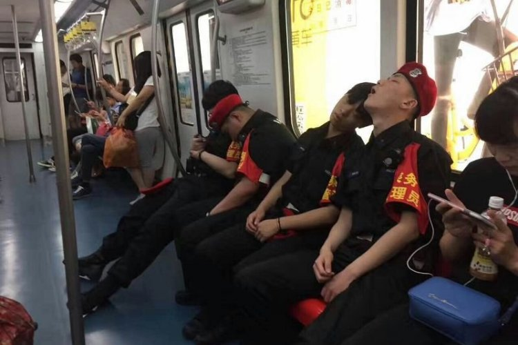 Beijing Subway Now Staffed with Safety Stewards for Your Own Protection