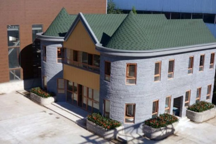 Take a Glimpse at the (Ugly) Future With This 3D Printed House in Tongzhou