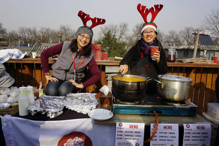 Christmas Cheer Reaches Full-Throttle at This Year's Hutong Winter Fayre, Dec 14