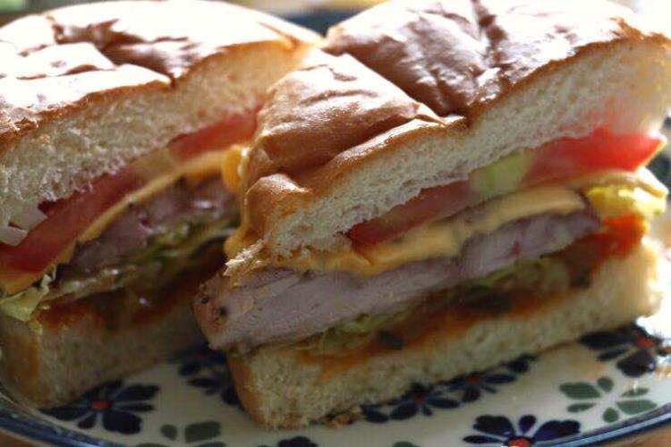 Burger Brief: Flypizza & Hoodadak Chicken's Hoodadak Chicken Burger